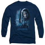 Long Sleeve: Lord of the Rings - King in the Making T-shirts
