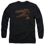 Long Sleeve: Jurassic Park - Spino Mount T-shirts