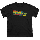 Youth: Back to the Future -  BTTF 3 Logo T-shirts