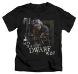 Youth: Lord of the Rings - The Best Dwarf T-shirts
