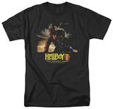 Hellboy II - Poster Art T-shirts