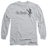 Long Sleeve: The Birds - The Birds Distressed T-Shirt
