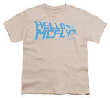 Youth: Back to the Future - Hello McFly T-Shirt