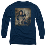 Long Sleeve: Lord of the Rings - ROTK Poster T-Shirt