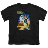 Youth: Back to the Future - BTTF Poster T-Shirt