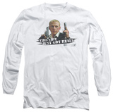 Long Sleeve: Hot Fuzz - Just Got Real T-Shirt