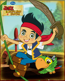 Jake and the Never Land Pirates-Jake Posters