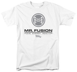 Back to the Future - Mr Fusion Logo Shirts