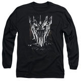 Long Sleeve: Lord of the Rings - Big Sauron Head T-shirts