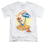Youth: Woody Woodpecker - Summertime T-shirts