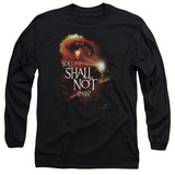 Long Sleeve: Lord of the Rings - You Shall Not Pass! T-Shirt