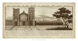 View of Eynsham Abbey Giclee Print by  Buck