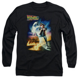 Long Sleeve: Back to the Future - BTTF Poster T-Shirt