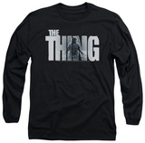 Long Sleeve: The Thing - The Thing Logo T-Shirt