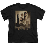 Youth: Lord of the Rings - TT Poster T-shirts