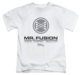 Youth: Back to the Future - Mr Fusion Logo T-Shirt