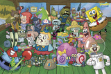 Spongebob-Characters Photo