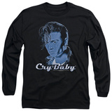 Long Sleeve: Cry Baby - King Cry Baby T-Shirt