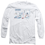 Long Sleeve: Law &amp; Order - Dominos T-shirts