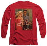 Long Sleeve: Cry Baby - Kiss Me! T-Shirt