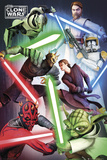 Clone Wars-Good vs Evil Print