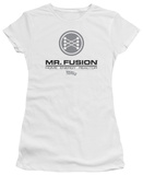 Juniors: Back to the Future - Mr Fusion Logo T-Shirt