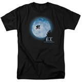 E.T. The Extra Terrestrial - E.T. Moon Scene T-Shirt