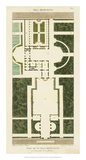 Plan de la Villa Bolognetti Art by Bonnard