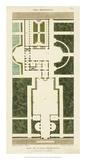 Plan de la Villa Bolognetti Giclee Print by  Bonnard