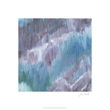 Lapis Impressions II Premium Giclee Print by Lisa Choate
