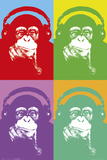 Steez-4 Monkeys Posters