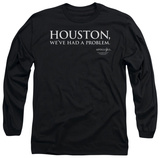 Long Sleeve: Apollo 13 - Houston T-Shirt