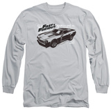 Long Sleeve: Fast and Furious - Spray Car T-Shirt