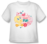 Toddler: Baby Tweety - Havin&#39; Fun T-shirts