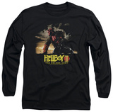 Long Sleeve: Hellboy II - Poster Art T-shirts