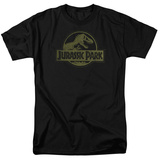 Jurassic Park - Distressed Logo T-Shirt
