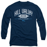 Long Sleeve: Back to the Future - Hill Valley 2015 Bluser