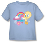 Youth: Baby Tweety - Rainbow Wishes T-shirts