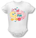 Infant: Baby Tweety - Havin' Fun T-shirts