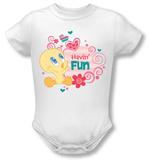 Infant: Baby Tweety - Havin' Fun T-shirts