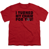 Youth: The Voice - Turned My Chair Shirts