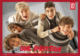One Direction-3D Landscape Affiches