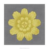 Gilded Rosette III Giclee Print by  Vision Studio