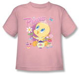 Toddler: Baby Tweety - Princess T-shirts