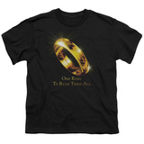 Youth: Lord of the Rings - One Ring Shirt