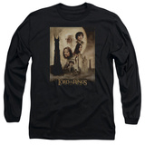 Long Sleeve: Lord of the Rings - TT Poster T-Shirt