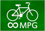Bicycle Infinity MPG Poster