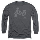Long Sleeve: Jurassic Park - Ingen Logo T-shirts