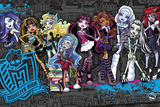 Monster High- Cast Kunstdruck