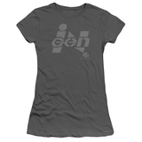 Juniors: Jurassic Park - Ingen Logo Shirt